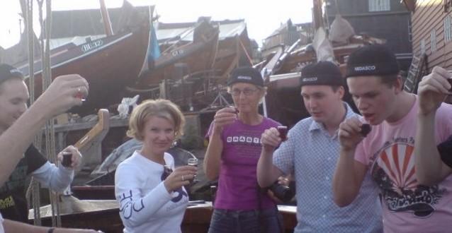Actieve relatiedag op zeilschepen vanuit Kampen Overijssel