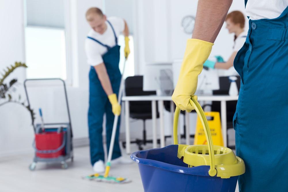 Niet je personeel schoon laten maken
