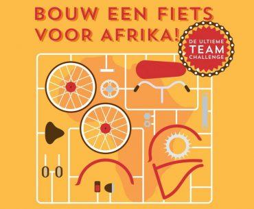 Bedrijfsuitje voor het goede doel – Bouw een fiets voor Afrika